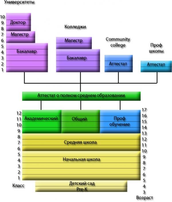 Система образования в США Русское агентство студенческий мир  Система образования в США